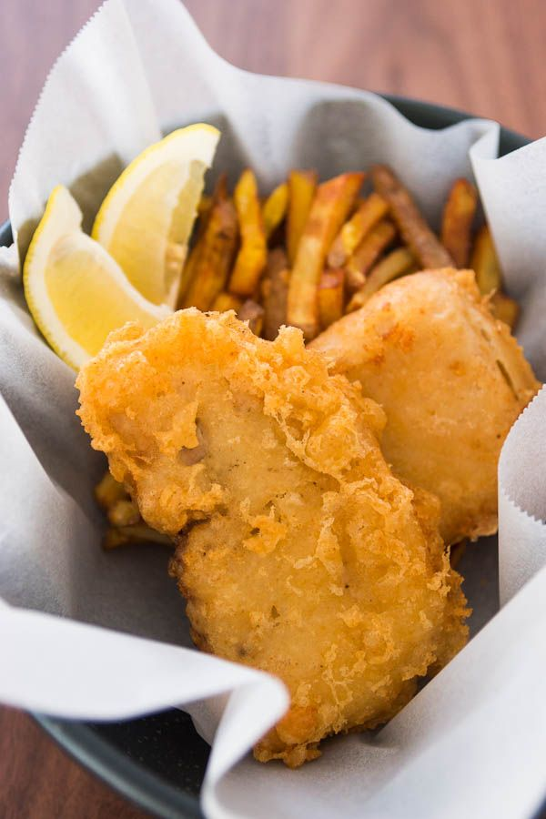 Summer favourite fish and chips westwaters for Easy fish batter