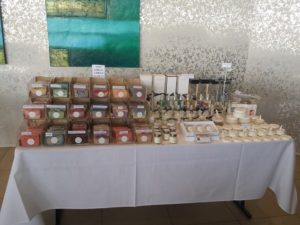 Bath Flame Body Market Stall - WestWaters Hotel