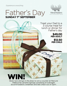 Father's Day at WestWaters