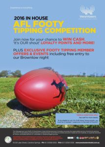 AFL Footy Tipping Competition 2016
