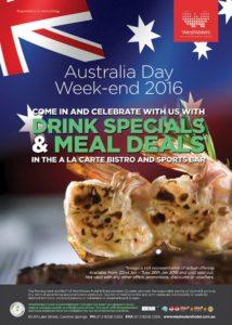 Australia Day Weekend 2016