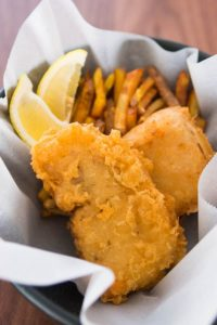 Fish and chips, summer favourite