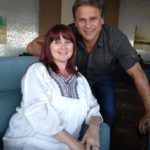Jon Stevens with competition winner