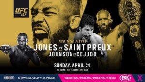Jones vs Saint Preux