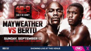 Mayweather vs. Berto