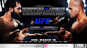 UFC 171 Screened live