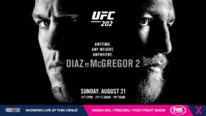 UFC 202 Diaz vs McGregor 2
