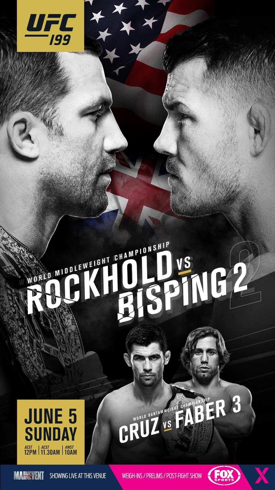 UFC 199 Rockhold Bisping 2