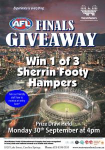 AFL Finals Giveaway