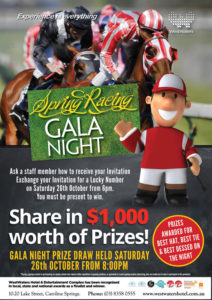 Spring Racing Gala Night