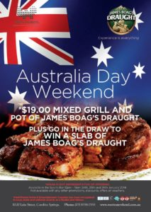 Australia Day week-end